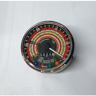 Tacho Drehzahlmesser Kombiinstrument für Deutz 2505 3005 2506 3006 linksdrehend
