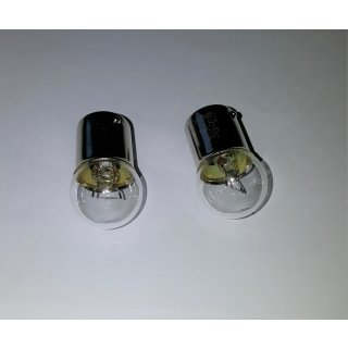 2 Stück Glühlampe Glühbirne BA15s 6V 10W Rücklicht Schlusslicht Oldtimer