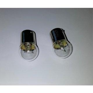2 Stück Glühlampe Glühbirne BA15s 12V 10W Long Life Rücklicht Schlusslicht