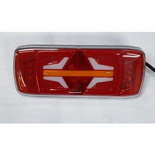 LED Rückleuchte 12/24V Rücklicht LKW Anhänger dynamisches Neon Blinklicht