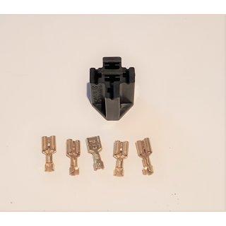 KFZ Sockel für Blinkgeber Relais Relaisstecksockel  Bosch 5 Polig 6,3mm