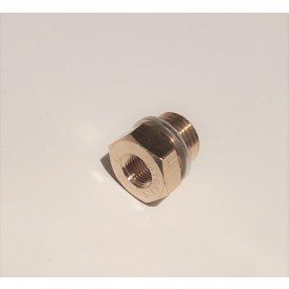 Adapter für Geber Fühler Temperatur Oeldruckanzeige M10x1 M12x1,5 M14x1,5 M16x1,5 M18x1,5 M22x1,5 1/4 5/8