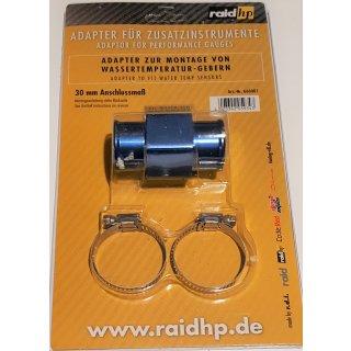 Wasser Temperatur Adapter Kühlerschlauch 30mm Temperaturanzeige Geber 1/8NPTF