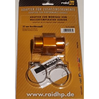 Wasser Temperatur Adapter Kühlerschlauch 32mm Temperaturanzeige Geber 1/8NPTF