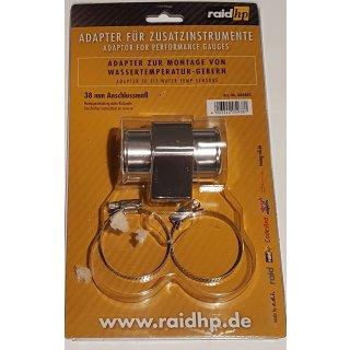 Wasser Temperatur Adapter Kühlerschlauch 38mm Temperaturanzeige Geber 1/8NPTF