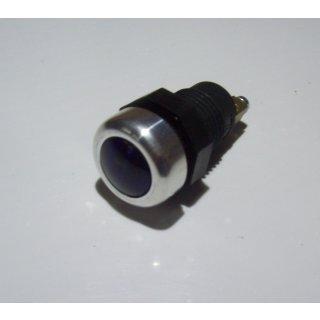 LED Kontrollleuchte Kontrolllampe Anzeigelampe Anzeigeleuchte Alurand blau 12V