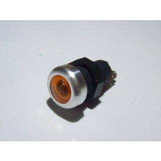 LED Kontrollleuchte Kontrolllampe Anzeigelampe Anzeigeleuchte Alurand gelb 12V