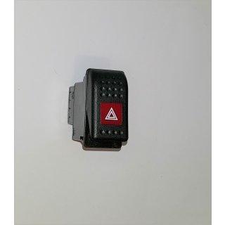 Warnblinkschalter mit LED Kontrollfunktion 6-32V  für JCB Radlader Schlepper LKW