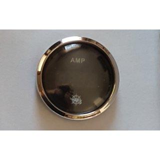 Digitales Ampermeter +/-80A, 12/24V Batterieanzeige Strommesser schwarz  poliert