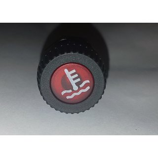 LED Kontrollleuchte Kontrolllampe Anzeigelampe Warnleuchte 12V Kühler in rot Oldtimer
