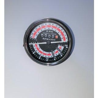 Traktormeter für Massey Ferguson MF135 mit 6 Gang Getriebe in Km/H Ausführung