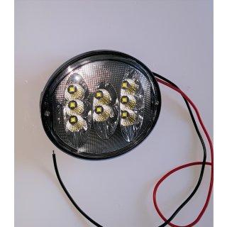 LED Arbeits Scheinwerfer 40W 3200Lumen oval  für John Deere 7220 7320 7420 7520