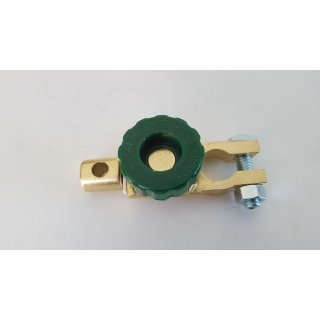 Batterieklemme Polklemme abschaltbar Trenner Hauptschalter Schlepper Traktor Oldtimer