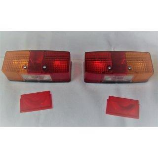 2 Rückleuchten Rücklicht für Fendt Deutz Hako Anhänger  l. u. r. Hella 2SE997111-021 2SE997111-011