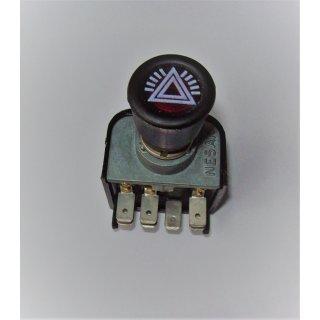 Warnblinkschalter Warnblinker12 Volt für Schlepper Traktor Oldtimer