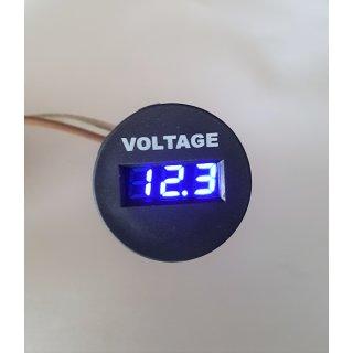 Voltmeter Spannungsmesser 6 - 33 Volt Wohnmobil Solar Batterieüberwachung