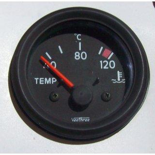 Temperaturanzeige Fernthermometer mit Geber Thermometer 24V Kühlwasser/Öl