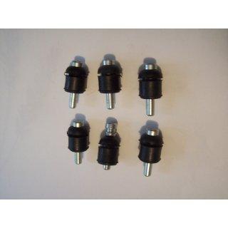 6 Halter für Deutz 06 Frontscheinwerfer Befestigungsstift 2506 - 130006