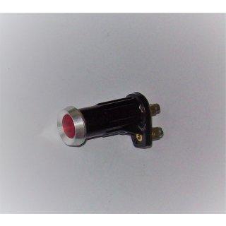Kontrollleuchte Kontrolllampe rot Alurand Vg.Nr. 2AA008593-031 Oldtimer