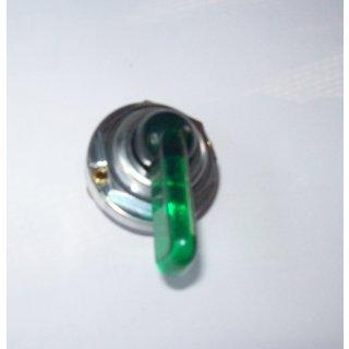 Blinklichtschalter Schalter Blinklicht Blinkerschalter Grüner Knebel mit Kontrollleuchte für Schlepper Oldtimer PKW