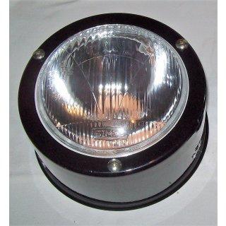 1 Scheinwerfer Metall mit BA20d 12V  für Deutz 06 Serie D 2506 - D16006