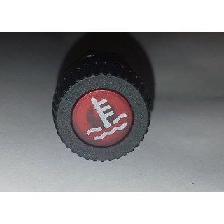 Kontrollleuchte Kontrolllampe Anzeigelampe Warnleuchte Kühler in rot Oldtimer