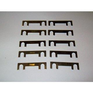 10 Stück Blattsicherung Sicherung Streifensicherung KFZ 25 - 150 A 30mm  36V