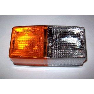 Lichtscheibe Hella  für Blink-Positionsleuchte für Deutz DX 3 4 6 7  John Deere Z-Serie Claas Schanzlin