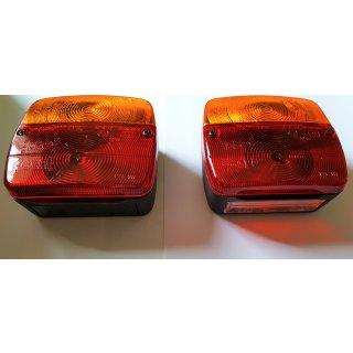 Rücklicht Rückleuchten Set Anhänger rechts ohne , links mit Kennzeichenbeleuchtung