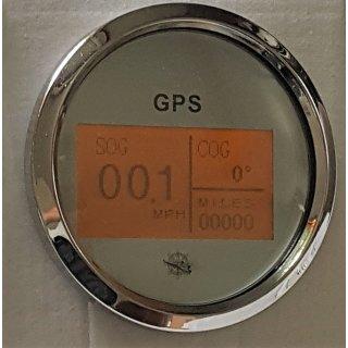 Digital GPS Tachometer Tacho Geschwindigkeitsmesser Kompass Boot Yacht Traktor