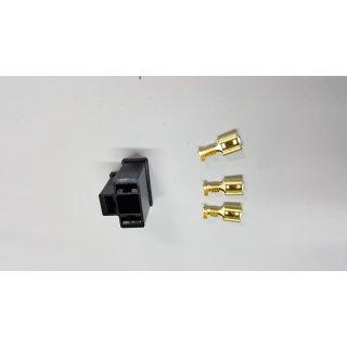 H4 Bilux Stecker Anschluss Lampenfassung Sockel P43t P45t Lampensockel gerade