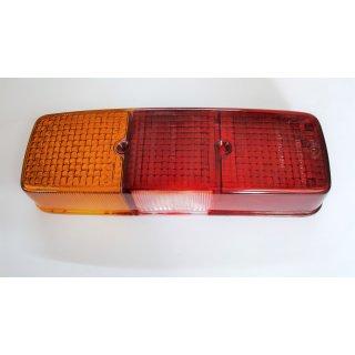 Lichtscheibe links Rückleuchte Bremslicht Schlusslicht Kennzeichen Fendt GT231