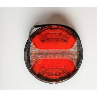 LED Nebelschlussleuchte Rückfahrscheinwerfer 12/24V weiß  rot mit Rückstrahler Anhänger LKW
