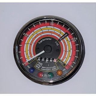 Tacho Drehzahlmesser Kombiinstrument für Deutz D4005 D5005 25Km/h Traktormeter