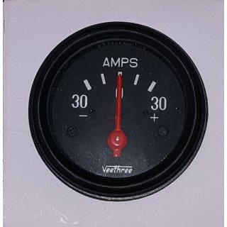 Ampermeter Ampere Batterieanzeige Strommesser Ladestrom 30A