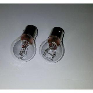2 Stück Glühlampe Autolampe BAY15d 12V 21/5W Long Life Rücklicht Bremslicht