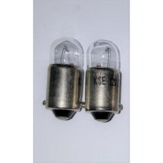 2 Stück Lampe Glühlampe Autolampe Standlichtbirne BA9s 12V 4W